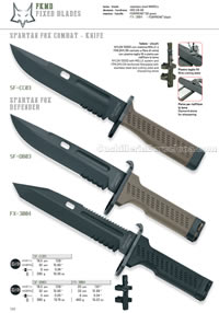 SPARTAN FOX COMBAT DEFENDER KNIVES FKMD