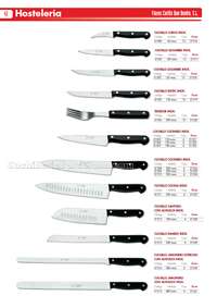 KITCHEN KNIVES Flores Cortes