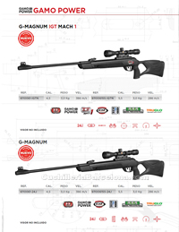 COMPRESSED AIR CARBINES 001 Gamo