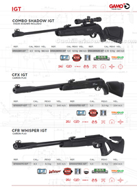 CARBINES AIR COMPRIME 007 Gamo