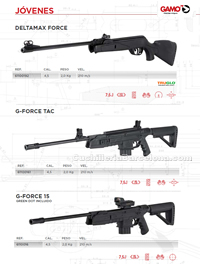 COMPRESSED AIR CARBINES 013 Gamo