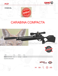 COMPRESSED AIR CARBINES 017 Gamo