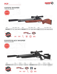 CARBINES AIR COMPRIME 018 Gamo
