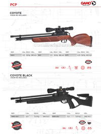 CARBINES AIR COMPRIME 019 Gamo
