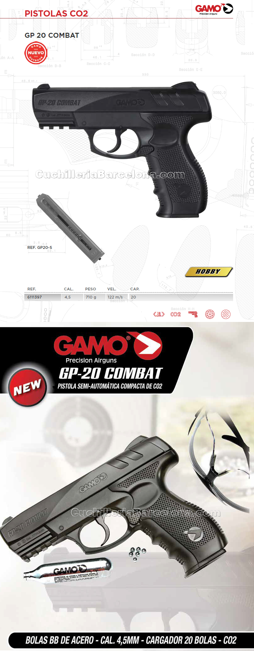 Gamo PISTOLAS CO2