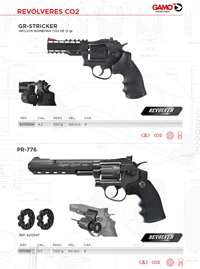 HANDGUN CO2 Gamo