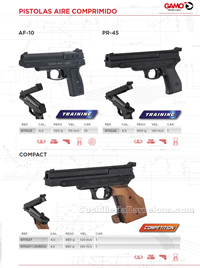 PISTOLS AIR CARBINES  Gamo