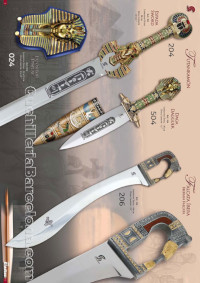 TUTANKAMON AND FALCATAS SWORDS Gladius