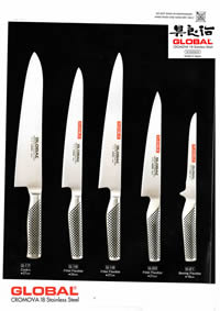 GLOBAL FORGED JAPANESE KNIVES GLOBAL