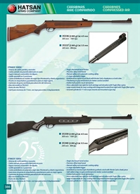 COMPRESSED AIR RIFLES Hatsan