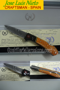 FOLDING KNIFE CRAFSTMAN JLNieto