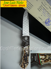 FOLDING KNIFE CRAFSTMAN RECORDER JLNieto