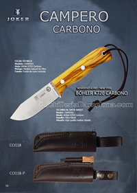 CAMPERO CARBON KNIVES Joker