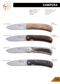CAMPERA POCKEK KNIVES JV CDA