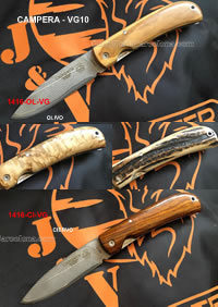CAMPERA POCKETKNIVES VG10 JV CDA