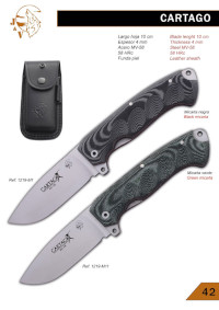 CARTAGO FOLDING KNIFE JV CDA