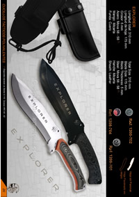 CUCHILLO SUPERVIVENCIA EXPLORER JV CDA