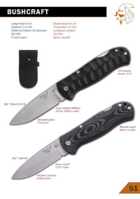 BUSHCRAFT POCKERKNIVES JV CDA