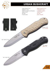 URBAN BUSHCRAFT FOLDING KNIVES JV CDA