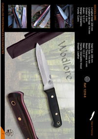KNIFE WOODLORE JV CDA