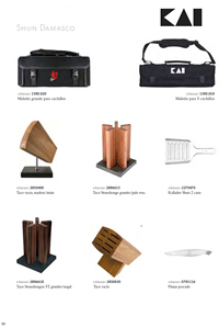 SUPPORTS AND BRIEFCASES KNIVES Kai