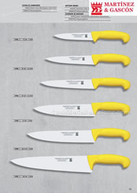 PROFFESIONAL KNIVES 12 Martinez Gascon
