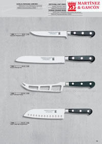 PROFFESIONAL KNIVES 18 Martinez Gascon