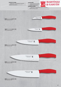 PROFFESIONAL KITCHEN KNIVES 03 Martinez Gascon