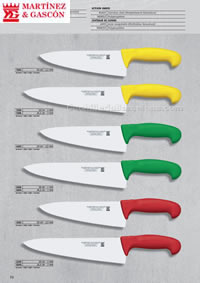 PROFFESIONAL KITCHEN KNIVES 05 Martinez Gascon