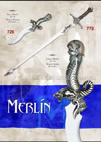 SWORDS MERLIN Marto