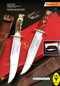 BOWIE KNIVES LIMITED EDITION Muela