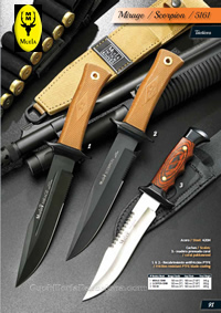 TACTICAL KNIVES MIRAGE SCORPION 5161 Muela