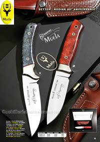 SETTER KODIAK KNIVES LIMITED EDITION Muela