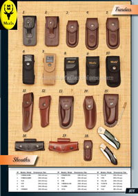 COVER POCKETKNIVES Muela