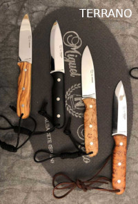 KNIVES TERRANO CARBON SCANDI Nieto
