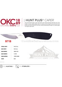 HUNT PLUS CAPER HUNTING KNIFE Ontario