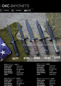 M7-M9 BAYONET TACTICAL KNIVES Ontario