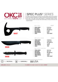 SPEC PLUS SERIES TACTICAL KNIVES Ontario