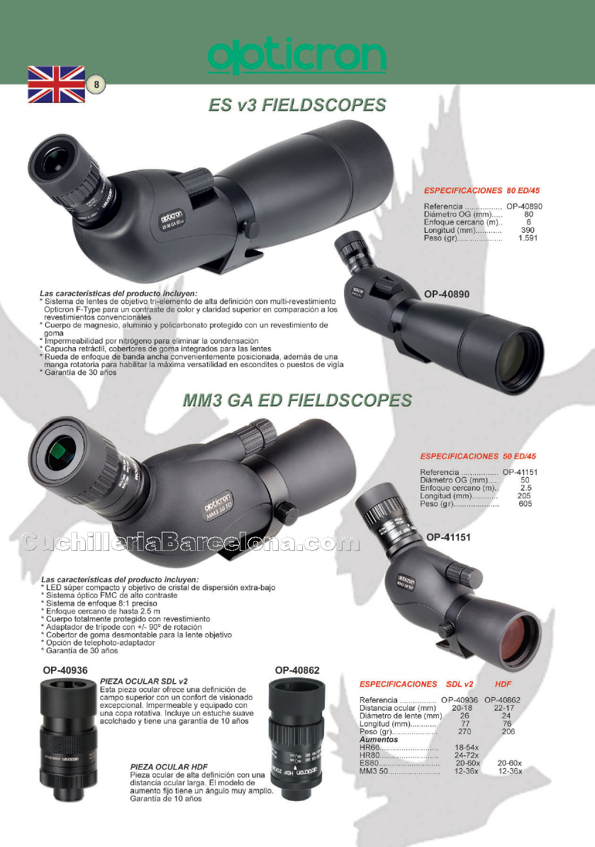TELESCOPIOS Opticron