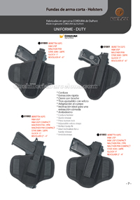 SHORT WEAPONS COVERS 004 Pielcu