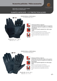 ANTICORTE GLOVES Pielcu