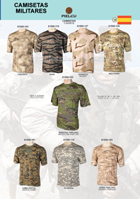 MILITARY T-SHIRTS Pielcu