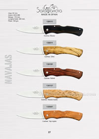 CAMPERAS POCKET KNIVES 02 Salamandra