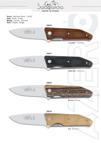 CAMPERAS POCKET KNIVES 04 Salamandra