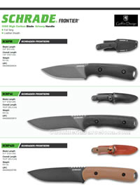 TACTICAL KNIVES Schrade