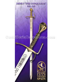 SWORD OF JAMES I KING OF CATALONIA SFT