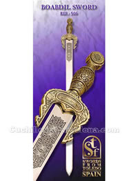 SWORD OF BOADBIL KING OF GRANADA SFT