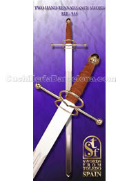 TWO HAND RENNAISSANCE SWORD SFT