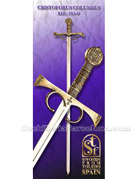 CHRISTOPHORUS COLUMBUS  SWORD SFT