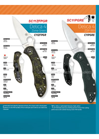 TACTICAL FOLDING KNIVES DELICA 4 Spyderco